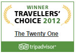 Tripadvisor Travellers Choice 2012
