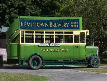 Vintage Bus Brighton