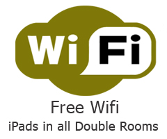 Free Wifi Zone at the 21 B&B Brighton